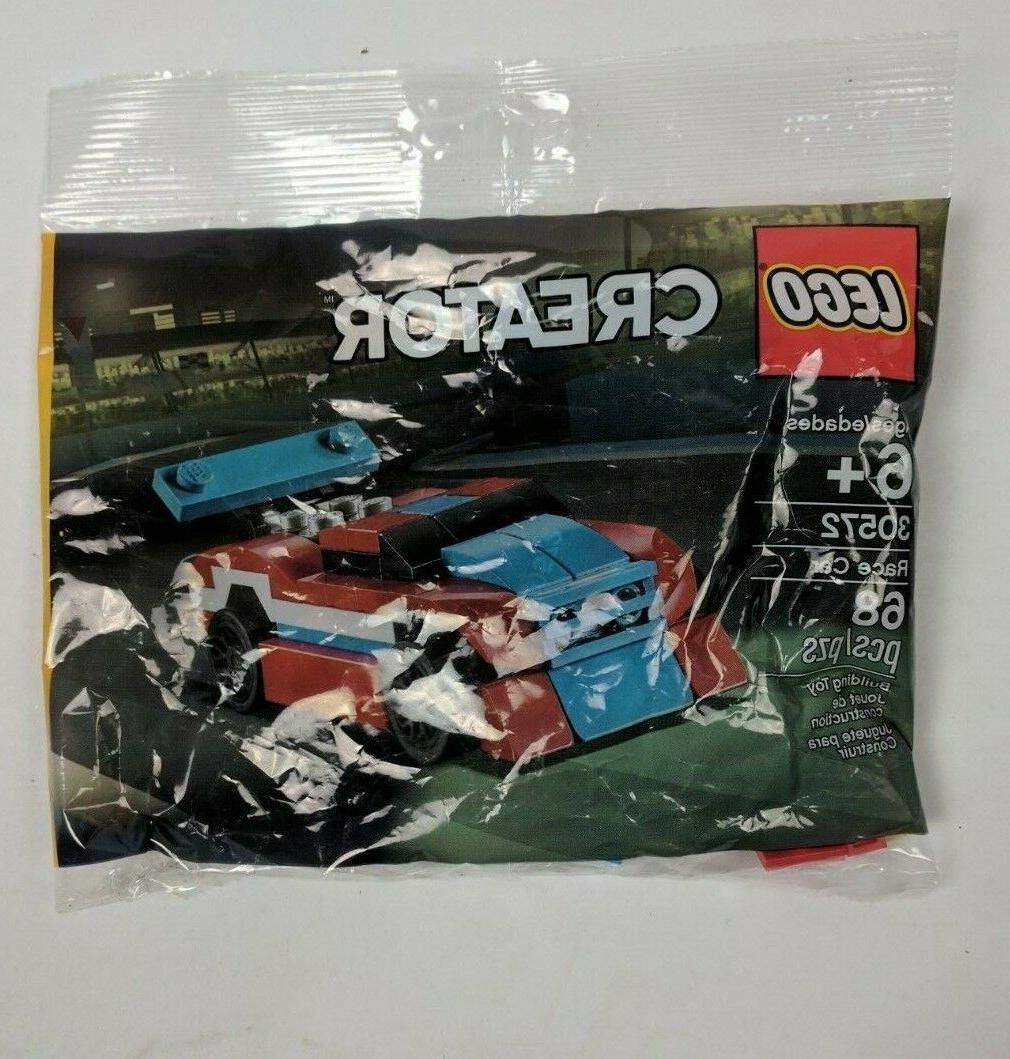 Lego Creator 30572 Race Car NEW Sealed Polybag Poly Easter Kids Toy 68 Pieces