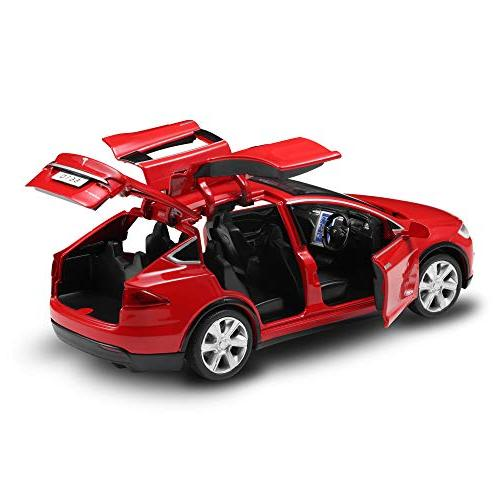 Diecast Cars Cars Alloy Toy with Sound and Light Kids Toys