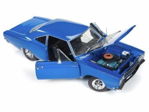 DIECAST1:18 AMERICAN - 1968 PLYMOUTH - 50TH LOONEY AUTO