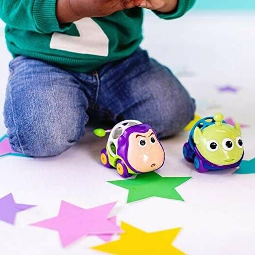 Disney Baby Grippers Toy Story Push Cars from Months