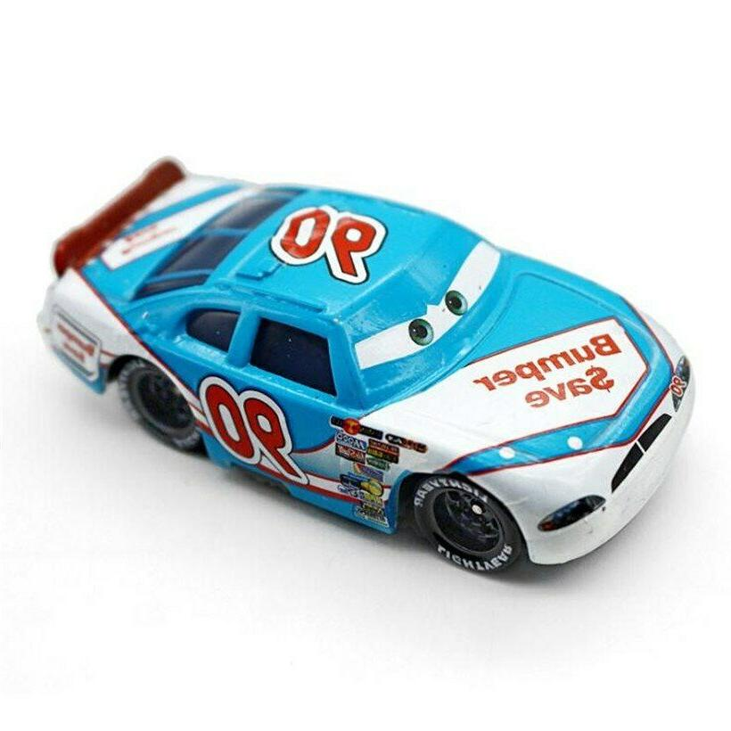 Disney Cars and 3 Diecast Toy Car Loose
