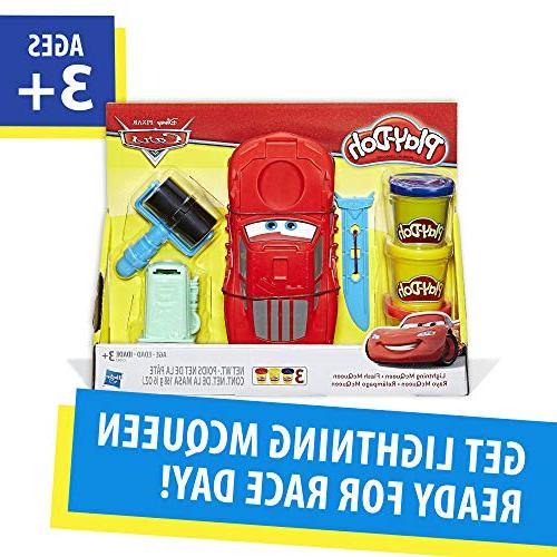 Play-Doh Cars Lightning 3 and