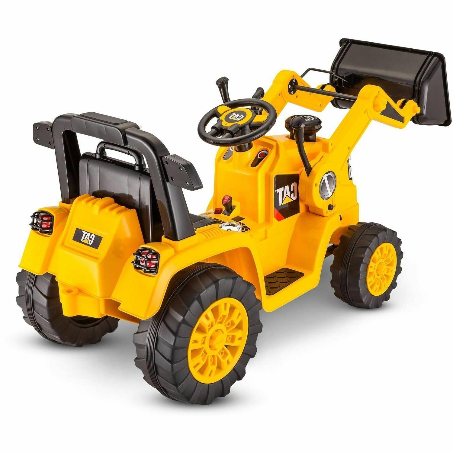 To On Outdoor Tractor Boys CAT Bulldozer