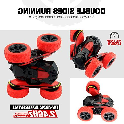 Car Remote Control Vehicle Racing High Speed 7.5MPH Rolling Rotating Rotation