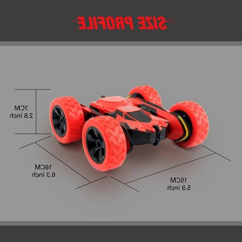 Rimila Electric Stunt Car Remote Control Racing Extreme Speed 7.5MPH 360 Degree Rolling Rotating
