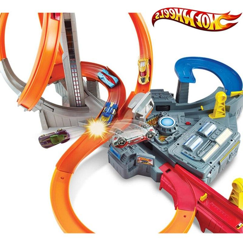 Genuine Hot Wheels <font><b>Car</b></font> Suit Electric Track City Hotwheels Track