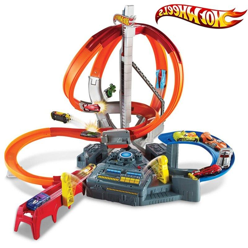 Genuine <font><b>Car</b></font> Electric Toy Track