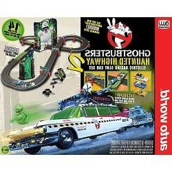 Ghostbusters Hauntied Highway 2 Ho Scale Slot Car Track