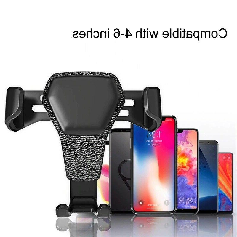 Gravity Air Mount Cradle for iPhone Mobile Phone