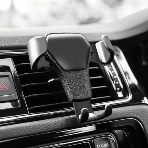 gravity car air vent mount cradle holder