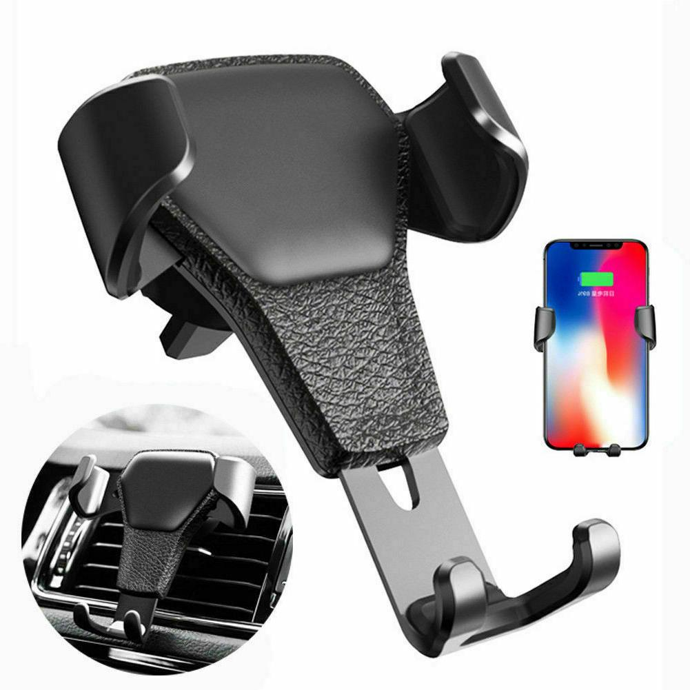gravity car air vent mount phone holder