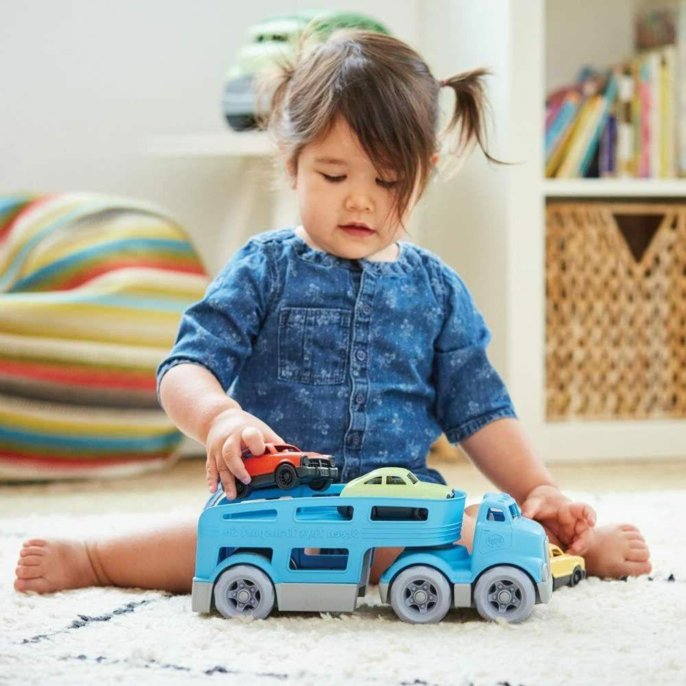 Green Toys Vehicle Set Blue, Standard
