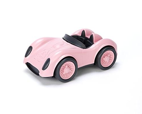 green toys vehicles pink race