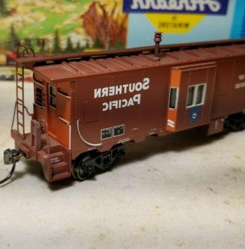 ho southern pacific police caboose car