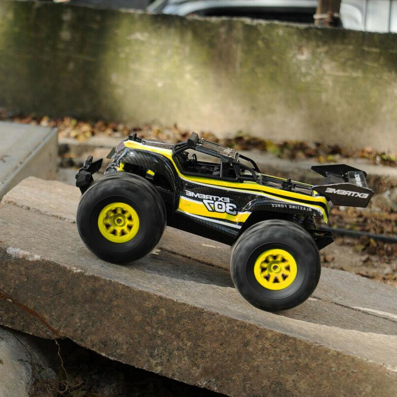 For Kids RC Control Vehicle Truck Bigfoot Racing Toy