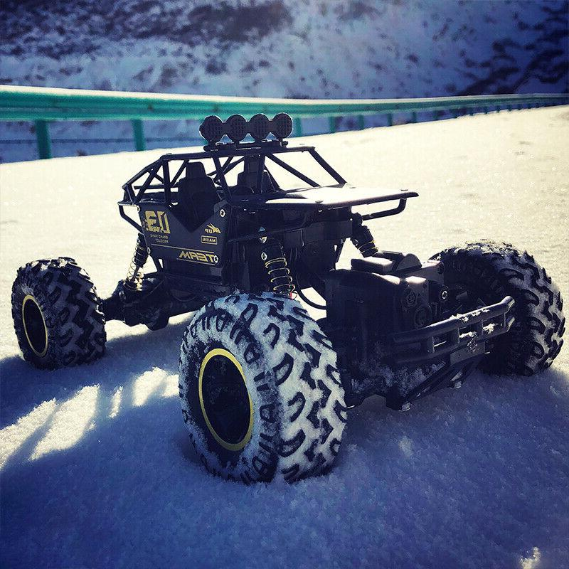 Large 2.4G RC 4WD Shaft Drive High Buggy Car Toy