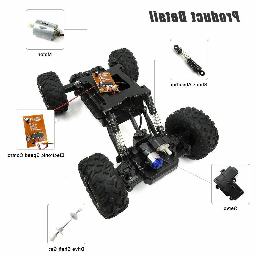 Large RC Cars 4WD Shaft Trucks High Buggy Car For