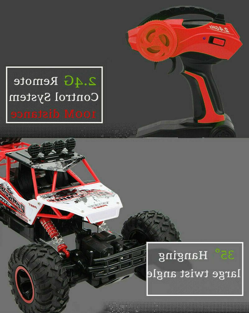 Large 2.4G Cars 4WD Shaft Trucks High Speed Car Toy For Kids