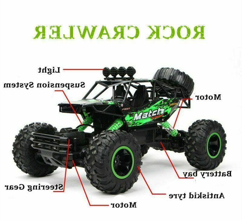 Large 2.4G Cars 4WD Trucks High Car Toy For Kids