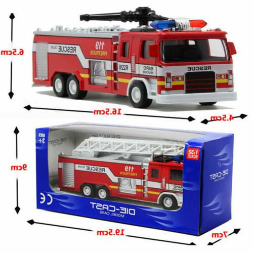 Led Fire Truck Car Truck Vehicle For Kid Gift