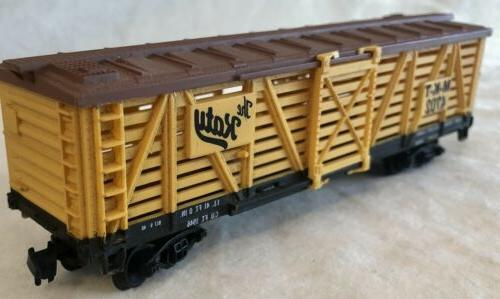 """Life-Like HO Scale Cattle Car """"The Katy"""" MKT 47152 for Train"""