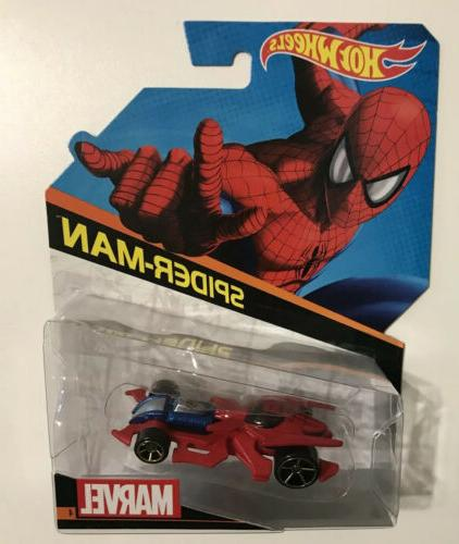 HOT CHARACTER CARS AMERICA SPIDER-MAN IRON