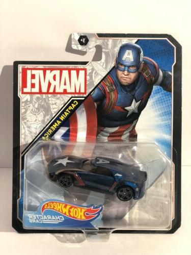 marvel character cars captain america