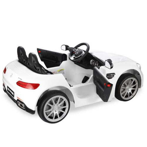 Mercedes Benz 2 Seat Ride On for Kids W/3 Light,USB,FM,MP3
