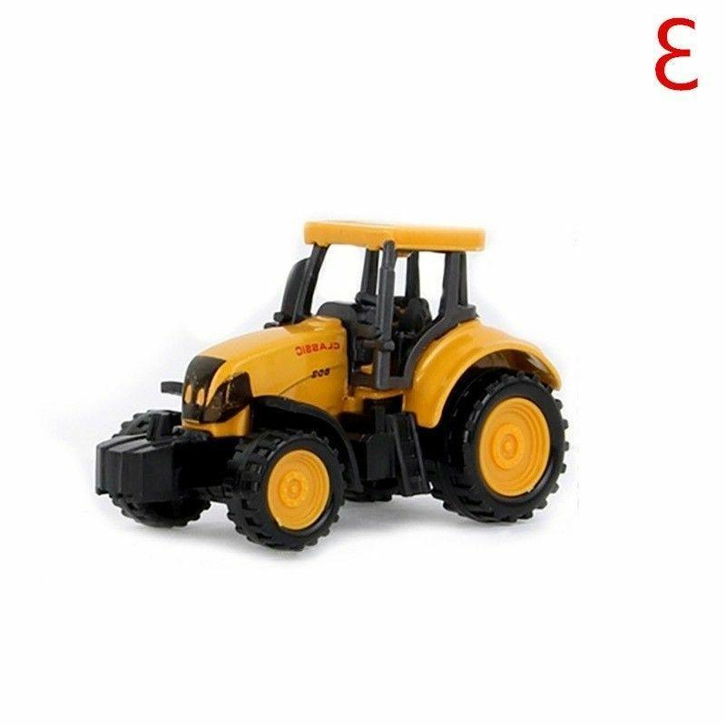 Mini Engineering Toy Alloy Vehicle Tractor