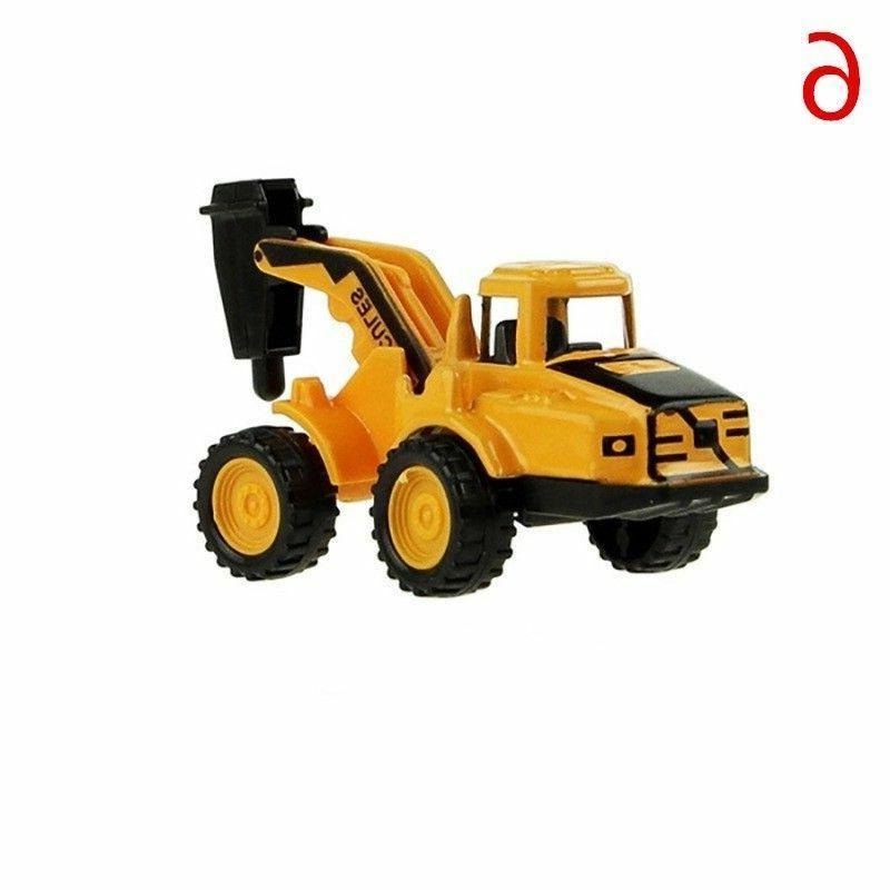 Mini Alloy Dump Truck Tractor Toy Children