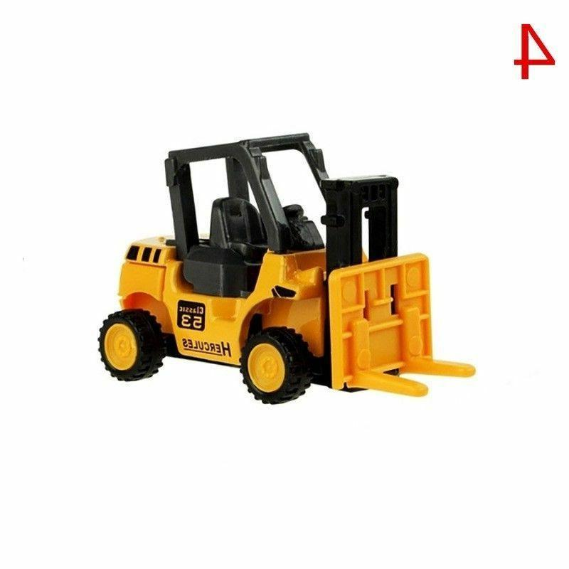 Mini Car Toy Alloy Vehicle Dump Tractor Children