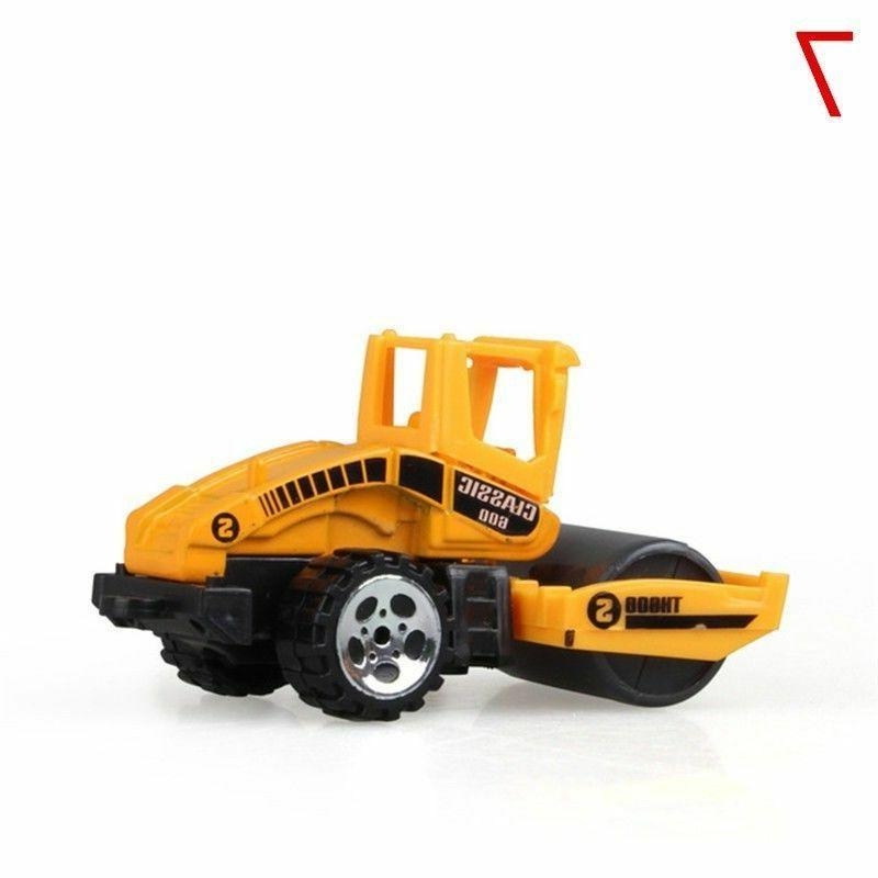 Mini Engineering Toy Alloy Vehicle Dump Tractor Children