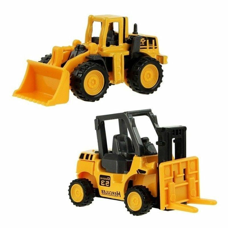 Mini Alloy Tractor For