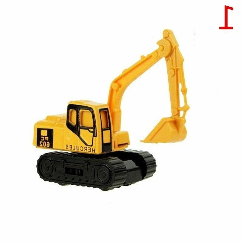 Mini Alloy Truck Tractor Model For Children