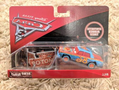 NEW IN BOX Disney/Pixar Cars 3 Bill Vehicle Scale