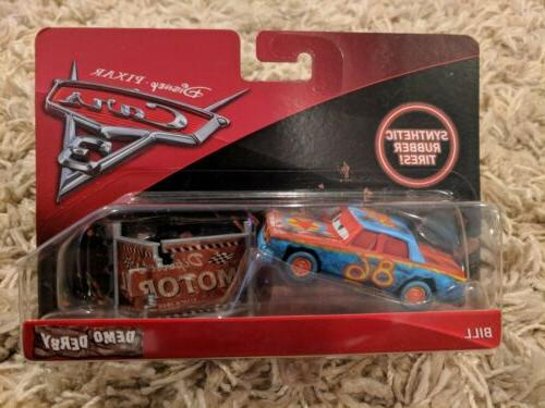 NEW Cars 3 Bill Vehicle Demo Scale
