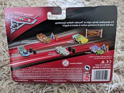 NEW IN Cars 3 Die-Cast Vehicle Derby 1:55 Scale