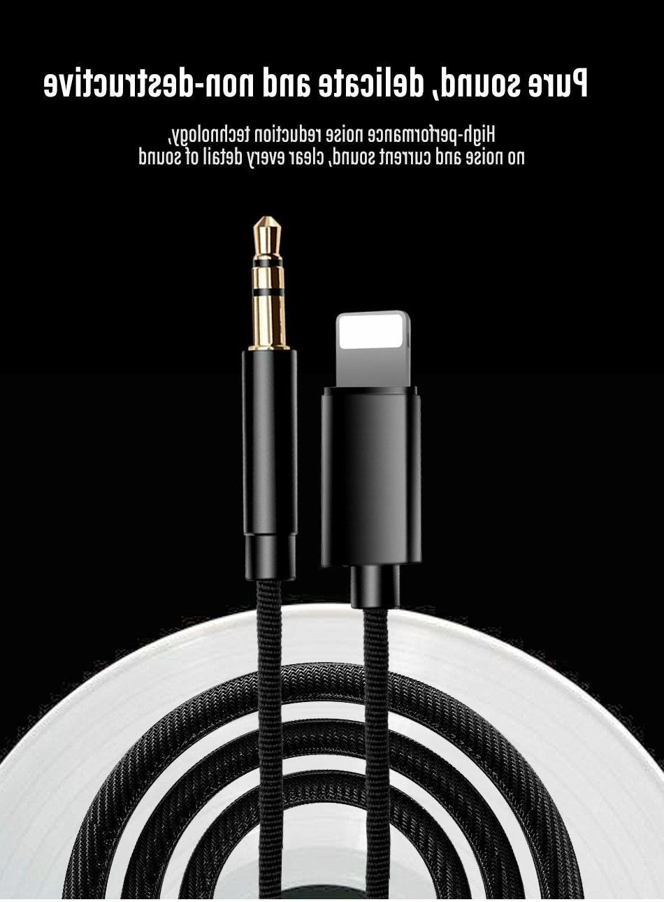 NEW Lightning to AUX Cable 8 Max XR