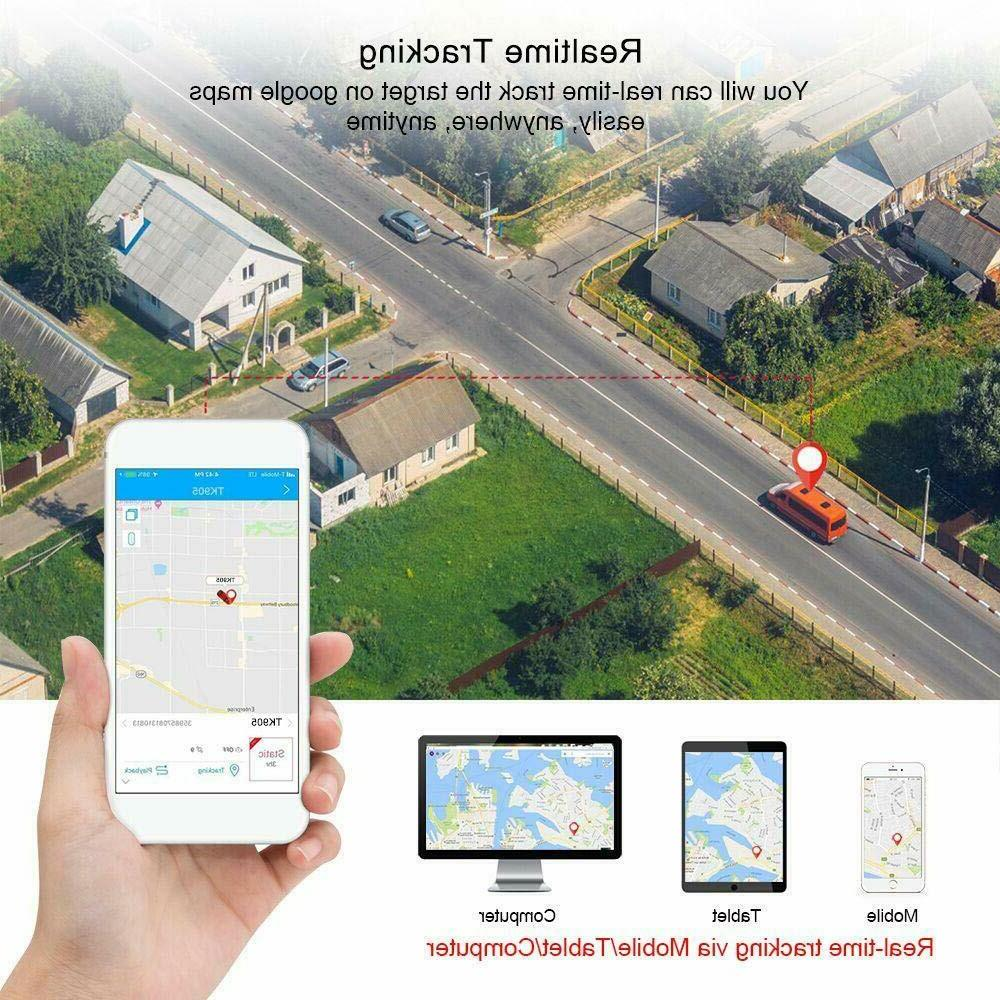 OBD GPS Real Vehicle Tracking Locator OBDII Car