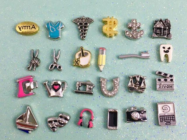 occupation and hobby charms for your floating