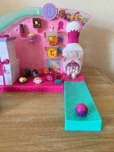 💕Shopkins Party Bowling & Cars Playset for