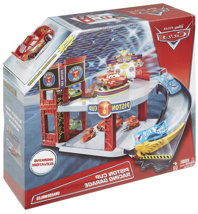 Mattel Piston Garage cars themed fun! HOT