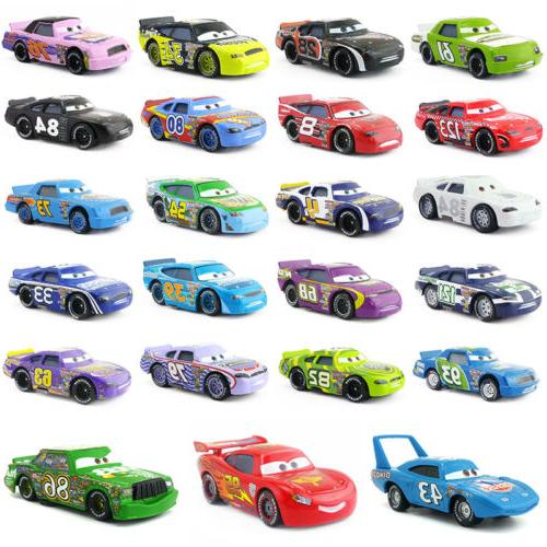 pixar cars racers no 4 no 123