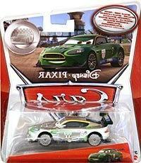 PIXAR CARS SILVER RACER SERIES EXCLUSIVE FULL SET OF 10, MCQ
