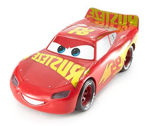 Disney Pixar Cars Talking Rust Eze Racing Center Lightning Mcqueen