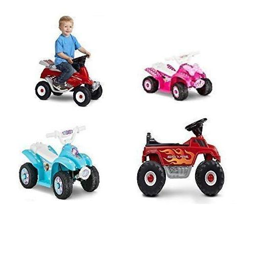 6V Kids Ride Car Trax Disney Frozen Toddler Quad BMW Quad Electric