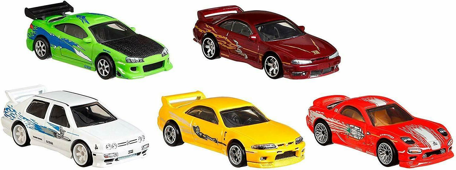 Hot Wheels Bundle Fast & Vehicles Exclusive Pack New