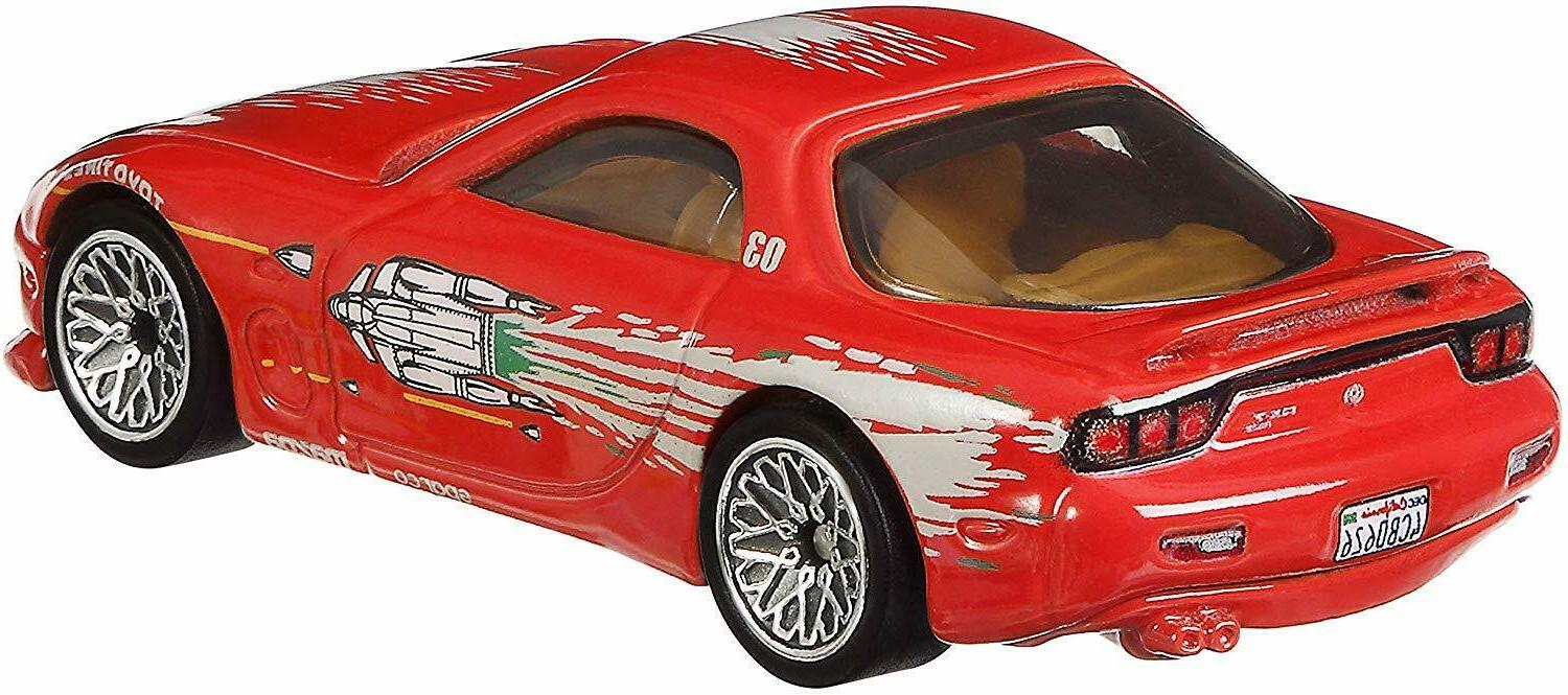 Hot Wheels Fast Exclusive Cars