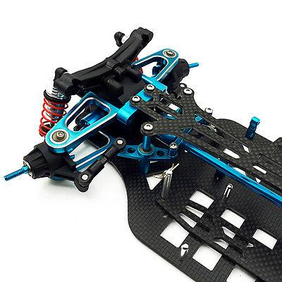 Rc 1/10 4WD Carbon Touring Frame Kit TAMIYA TT01 TT01E