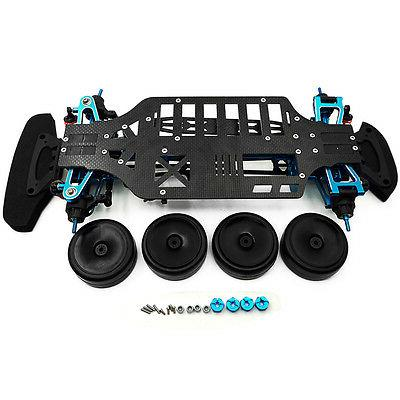 Rc Alloy Carbon Kit For TT01E Shaft Drive